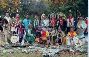 Oklahoma Native American Masonic Degree Team 2