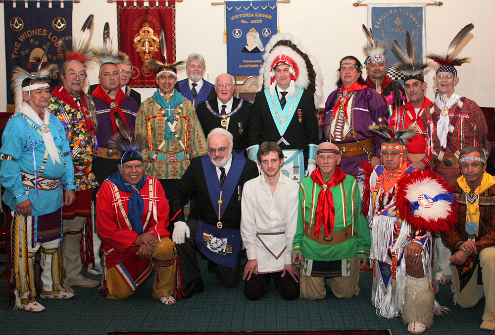 Oklahoma Masonic Indian Degree Team | Freemasonry