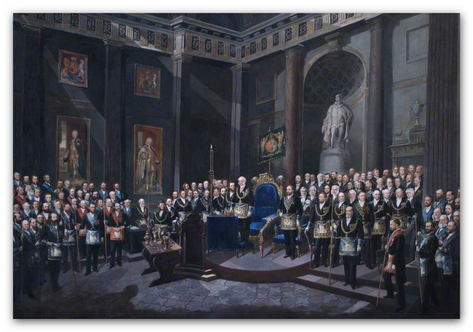 oil paintings at freemasons hall freemasonry