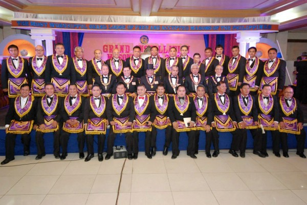 Grand Installation Of The Most Worshipful Grand Lodge Of