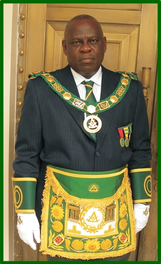 Grand Master Ghana Otwasuom Osae Nyampong VI APMR Masonic Press News Agency