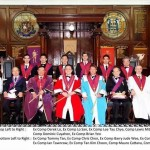 Officers and companions of Chapter Singapore 7178 English constitution.