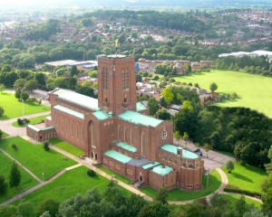 Guildford Cathedral aerial