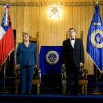 Official visit of the Chilean President at the Grand Lodge of Chile