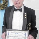 Masons honor local man for 70 years of membership