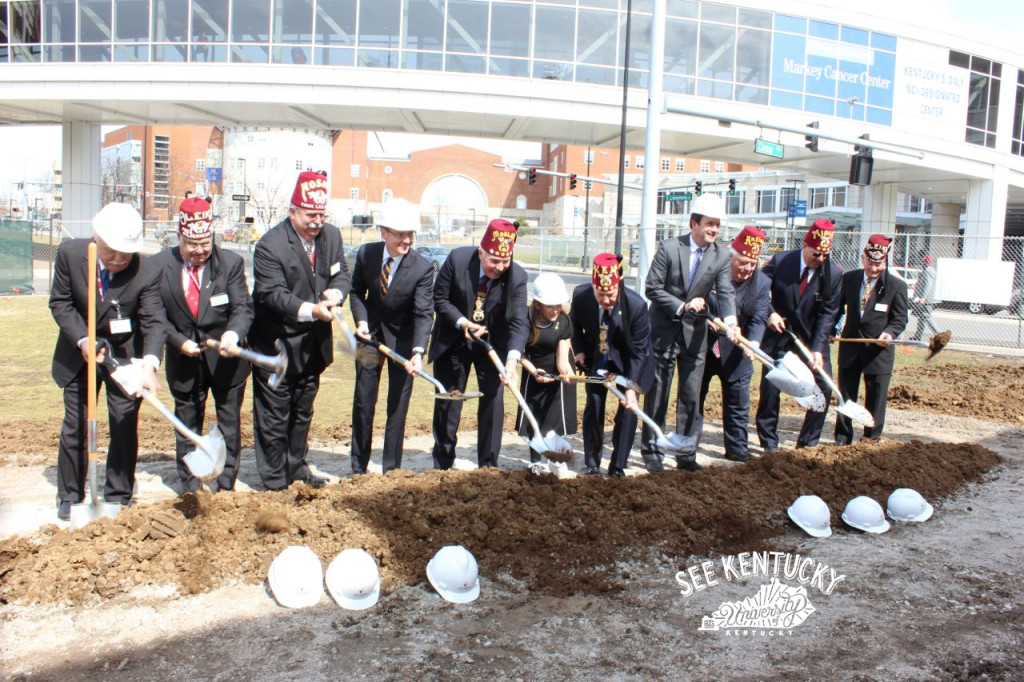 Shriners, Patients Break Ground for New Medical Center Located at University of Kentucky