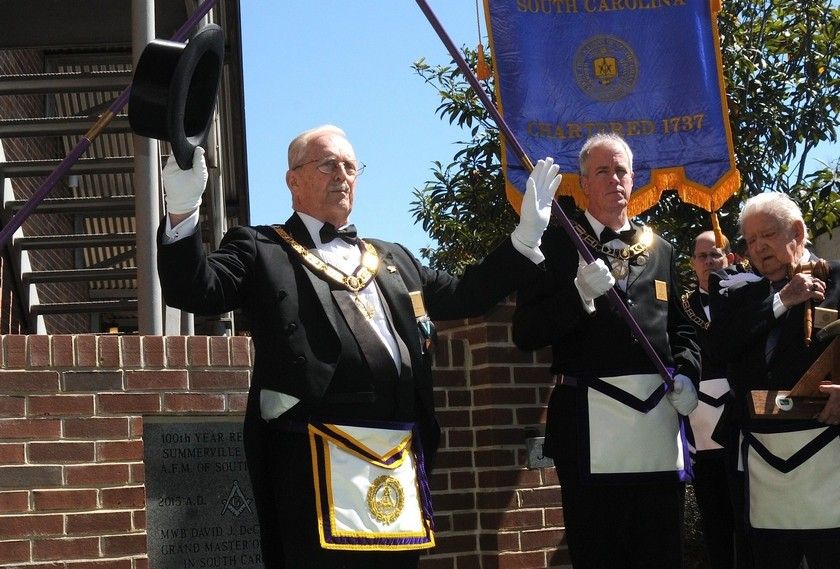 Summerville Masons celebrate 100 years of community service