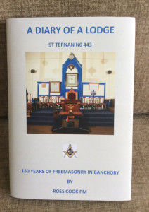 The new Lodge histiry book.
