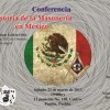 Conference about the History of Freemasonry in Mexico