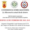 Conference on Freemasonry in Spain