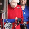 Queen's Nurse's Belt Buckle: A pentagram and a Freemason compass