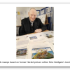Stamp collection with Masonic theme on display at Stoke Library in Plymouth