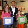 Shriners Hospitals for Children – Children's Artwork Presented to State Sen. Sean Wiley