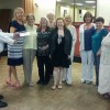North shore ladies present another impressive cheque