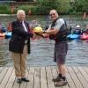 Freemasons help keep canoe club afloat