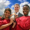 Young footballer's career boosted by Beaconsfield Freemasons