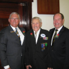 Rose of respect for 65 years with Freemasons
