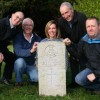 Stokenchurch Freemasons clean up military graves in St Peter and St Paul churchyard