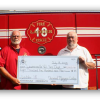 Norwood Masonic Lodge helps Lawrenceville Volunteer Fire Department buy ladder truck