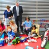 Head of Freemasonry visits children's centre following £10k donation
